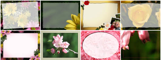 Christian Backgrounds - Mothers Day Framed Backgrounds